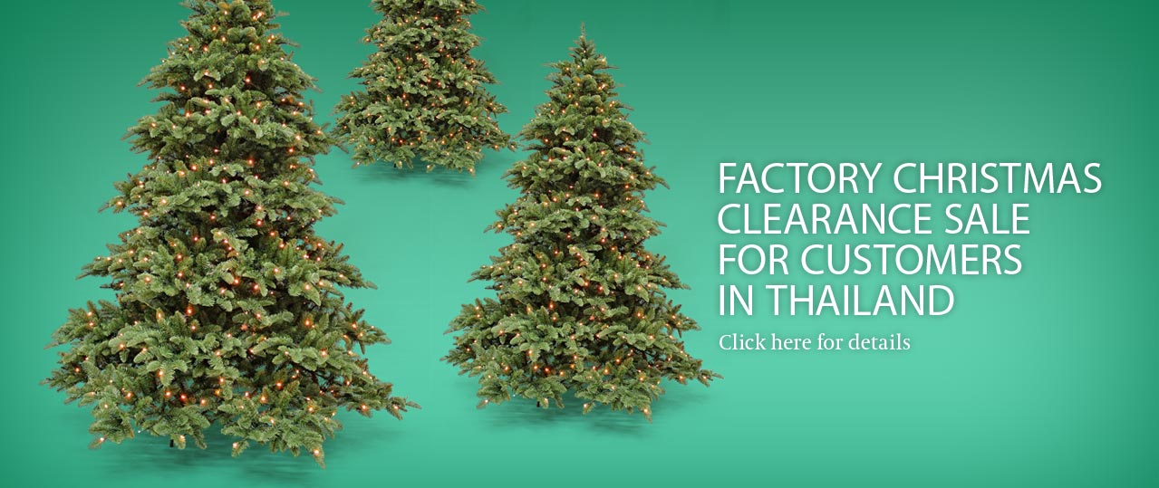 Christmas Tree Manufacturer Thailand : Triumphtree th one of the world s leading